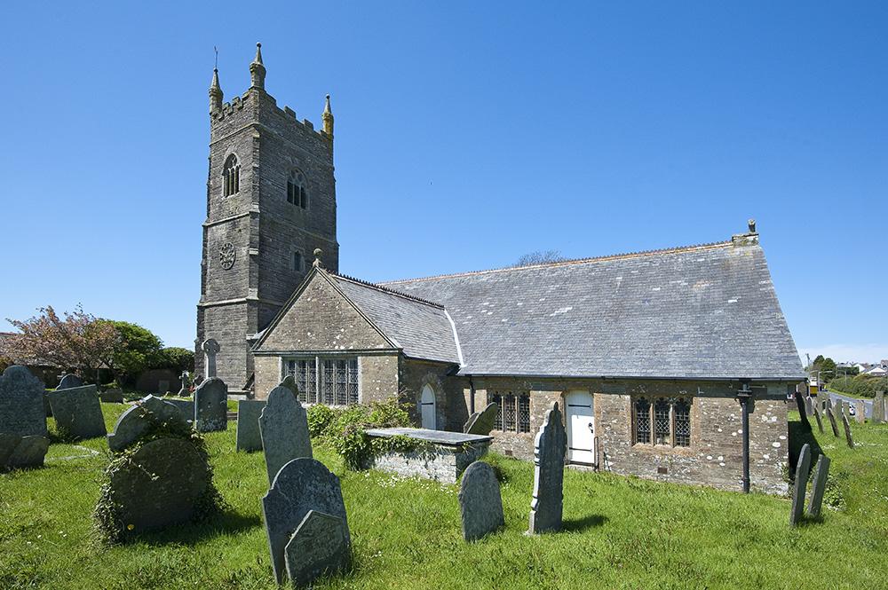 Job: Pelynt Church Caption: Pelynt Church from the south-east.